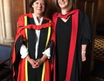 Doctorate honours work to end sexual violence